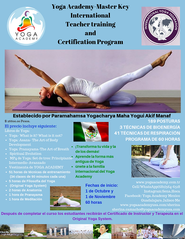 Yoga Academy Master Key International te
