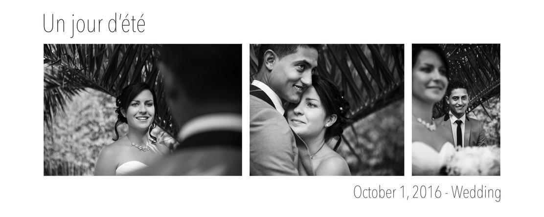 October 1, 2016 Wedding