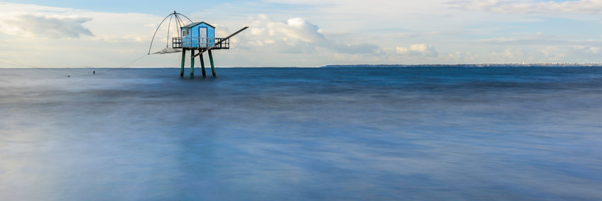 Moment bleu, la pêcheie