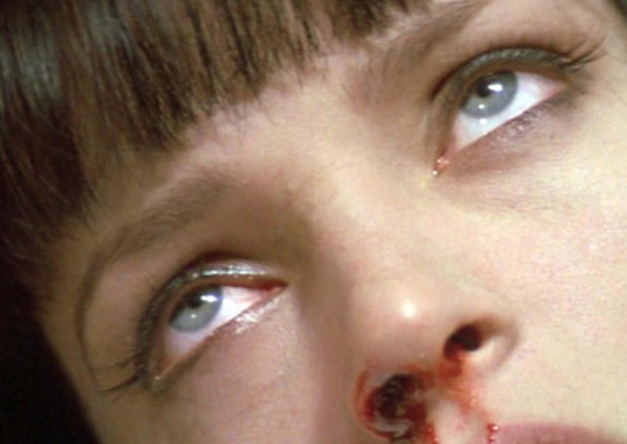 """Cena de """"Pulp Fiction"""" de Quentin Tarantino. 1995"""