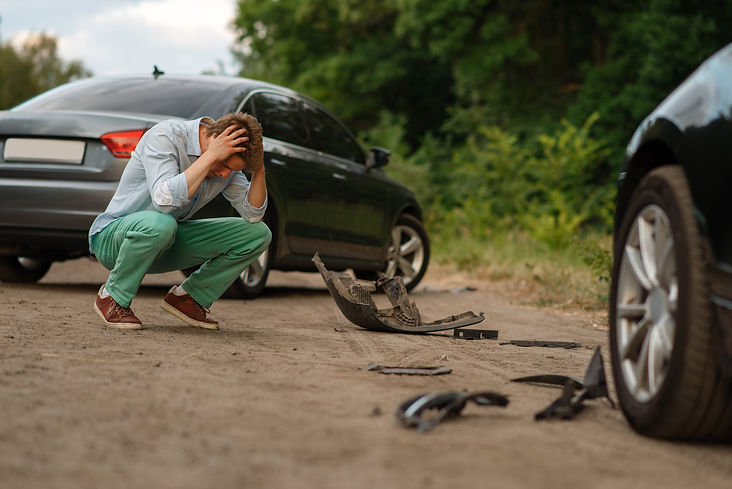 upset-male-drivers-after-car-accident-on