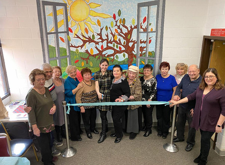 Mural Arts with Holocaust Survivors