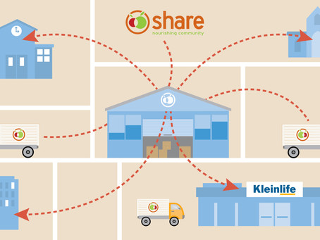 KleinLife Becomes an Official Supersite for Share Food Program