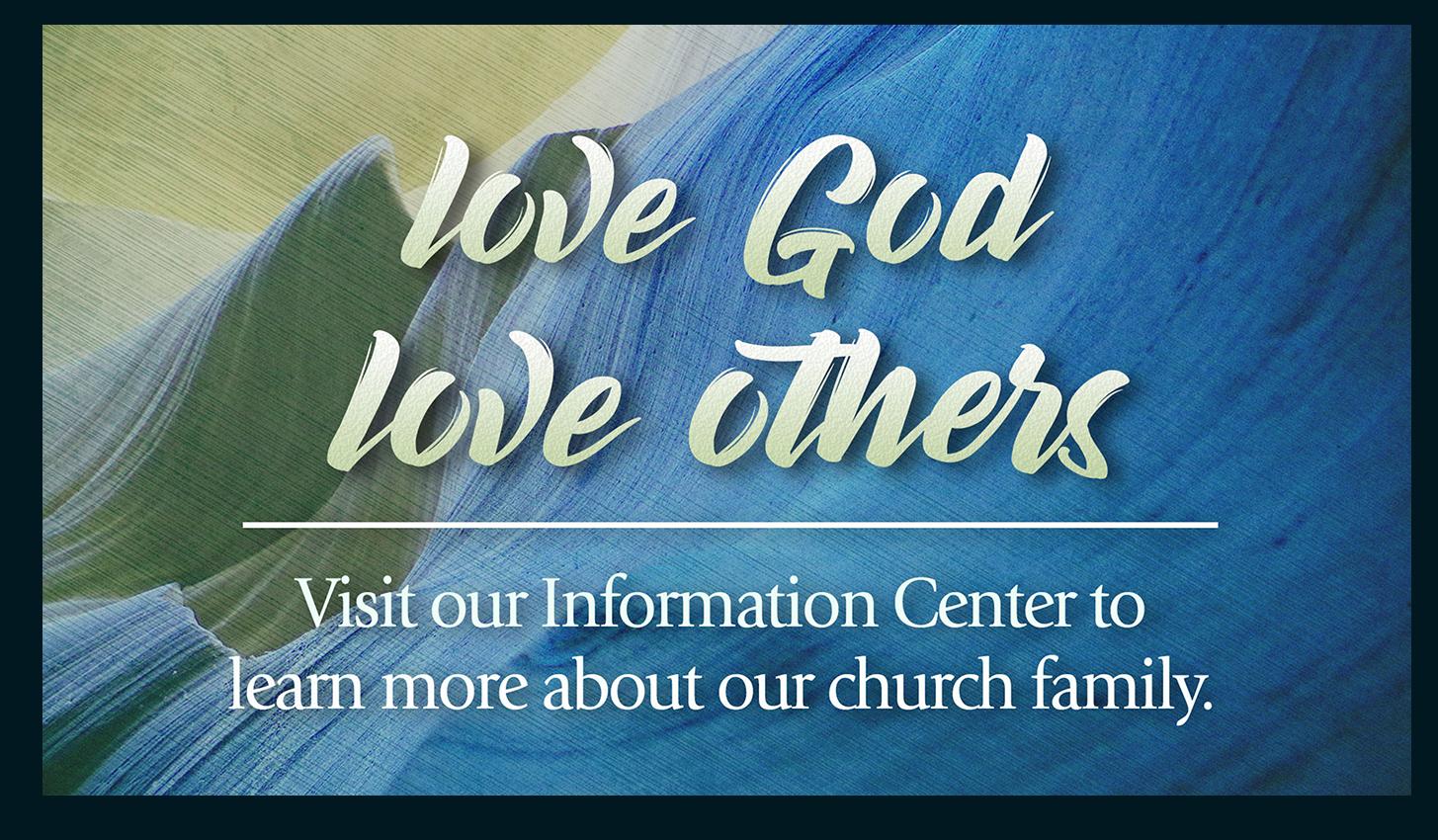 Visit the information center slide
