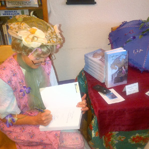 Aunt Gussie, Local Author