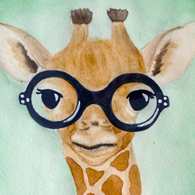 Animals in Glasses