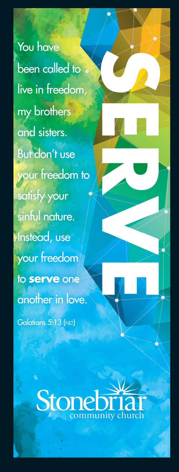 Serve banner