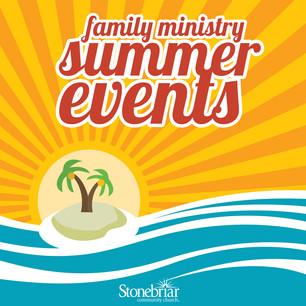 Children's Summer Events Calendar