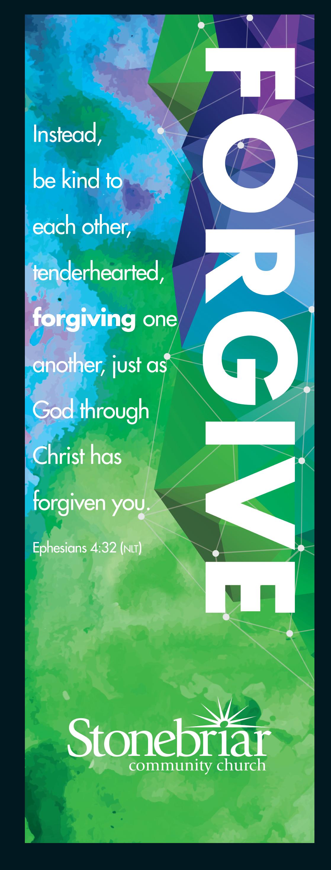 Forgive banner