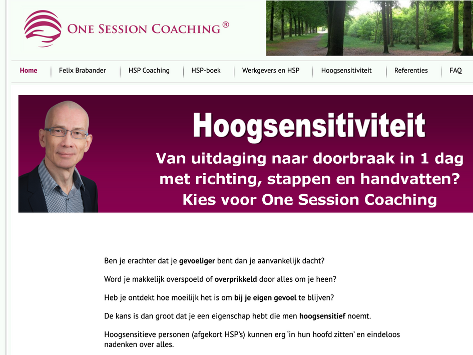 One Session Coaching