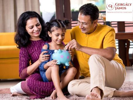 3 dolog, ami miatt jó döntés a gyermek megtakarítás