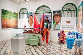 Museo Comunitario de San Jacinto, foto publicada por Claudia López en Twitter, año 2018