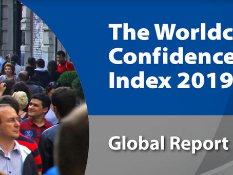 La confiance des dirigeants à travers le monde implose en 2019, révèle le Worldcom Confidence Index