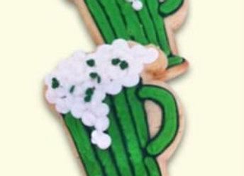 Green Beer Sugar Cookies