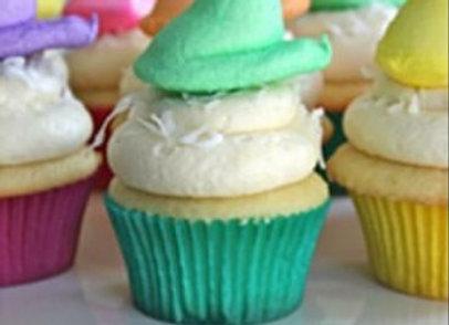 """Easter """"Peeps"""" Cupcakes"""