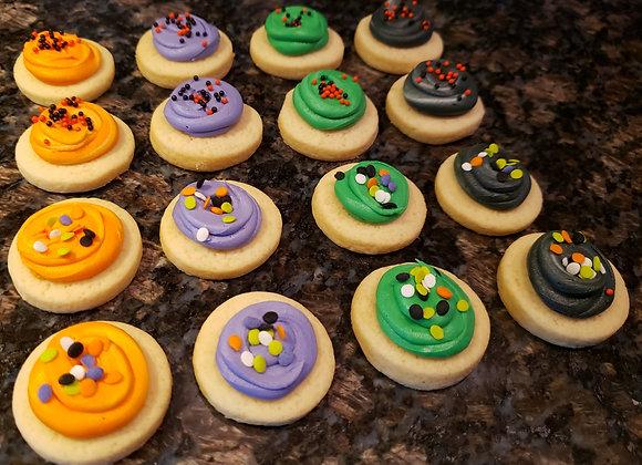 Halloween Sugar Cookie Bites