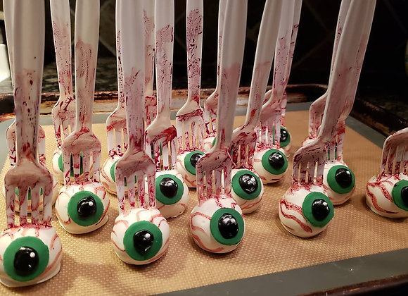 Halloween Eyeball Cake Pops