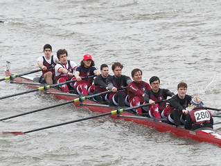 Men's 1st VIII Finish 174th at HoRR