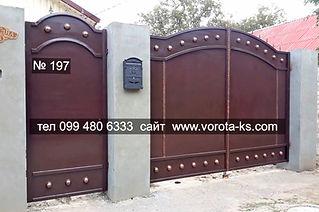 сварка металлических ворот в Херсоне