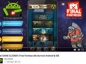 Eu Tenho Android : Melhor JOGO CLICKER | Final Fortress - Idle Survival Android & iOS