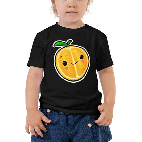 Toddler Short Sleeve Tee - Orange