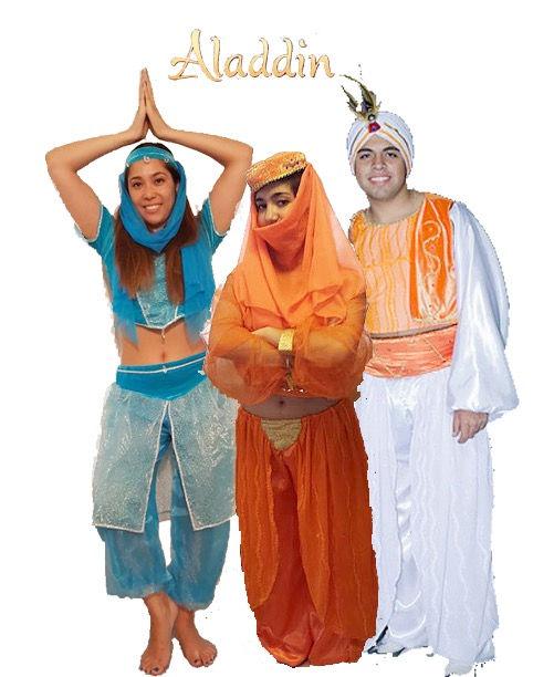 Disfraz Yasmin, Jasmine De Aladdin Disfraz