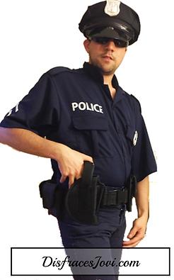 disfraz de policia hombre