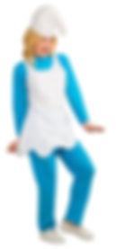 Disfraz De Pitufina - Disfraces Mujer