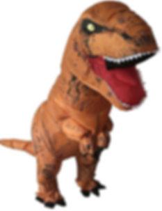 Disfraz T-Rex Dinosaurio para Arriendo 2018