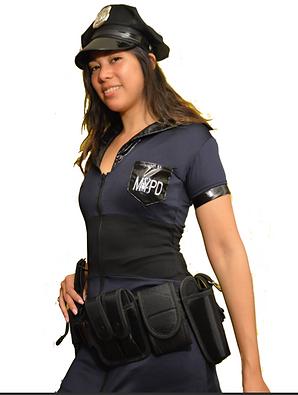 disfraz de policia mujer
