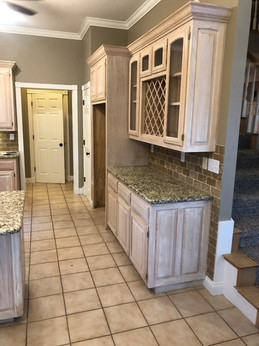 Kitchen construction, painting, home improvement in NWA 2020
