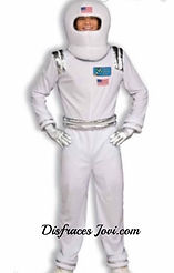 Astronauta NASA Disfraz