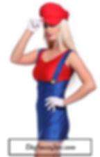 Disfraz Mario Mujer