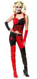Disfraz Harley Quinn, Arriendo