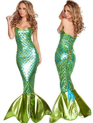 disfraz de sirena adulto mujer