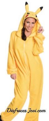 Disfraz Pikachu Hombre & Mujer Adulto