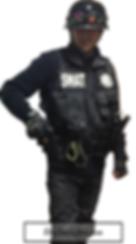 disfraz SWAT hombre