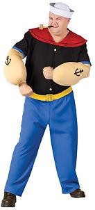 Disfraz Popeye el Marino para adulto