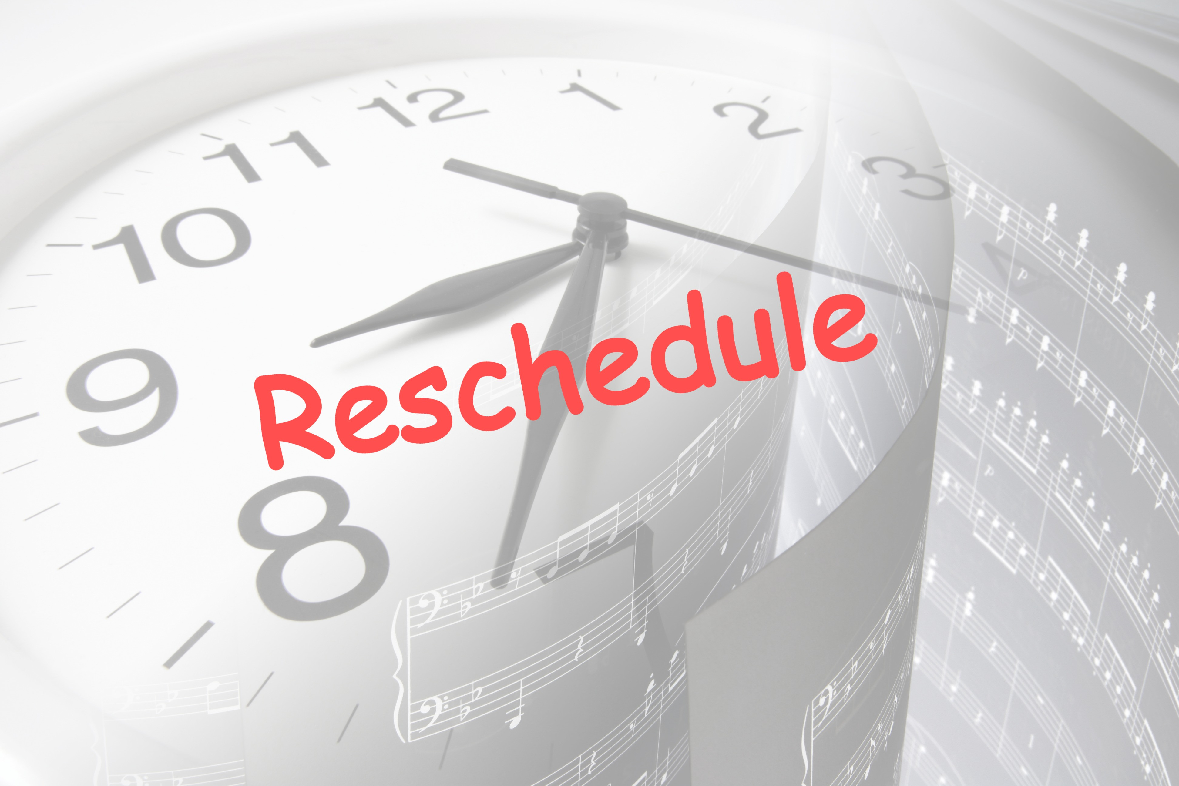 Reschedule Lesson