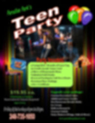Teen birthday party packages