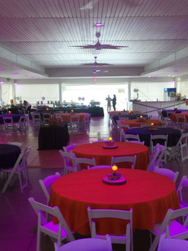 Custom Graduation Pavilion Set up