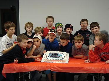 Hockey Team party
