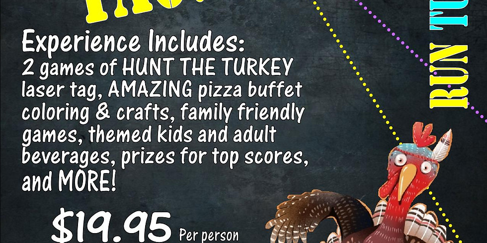 Hunt the Turkey Laser Tag