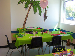 Cute Party Room Set-up