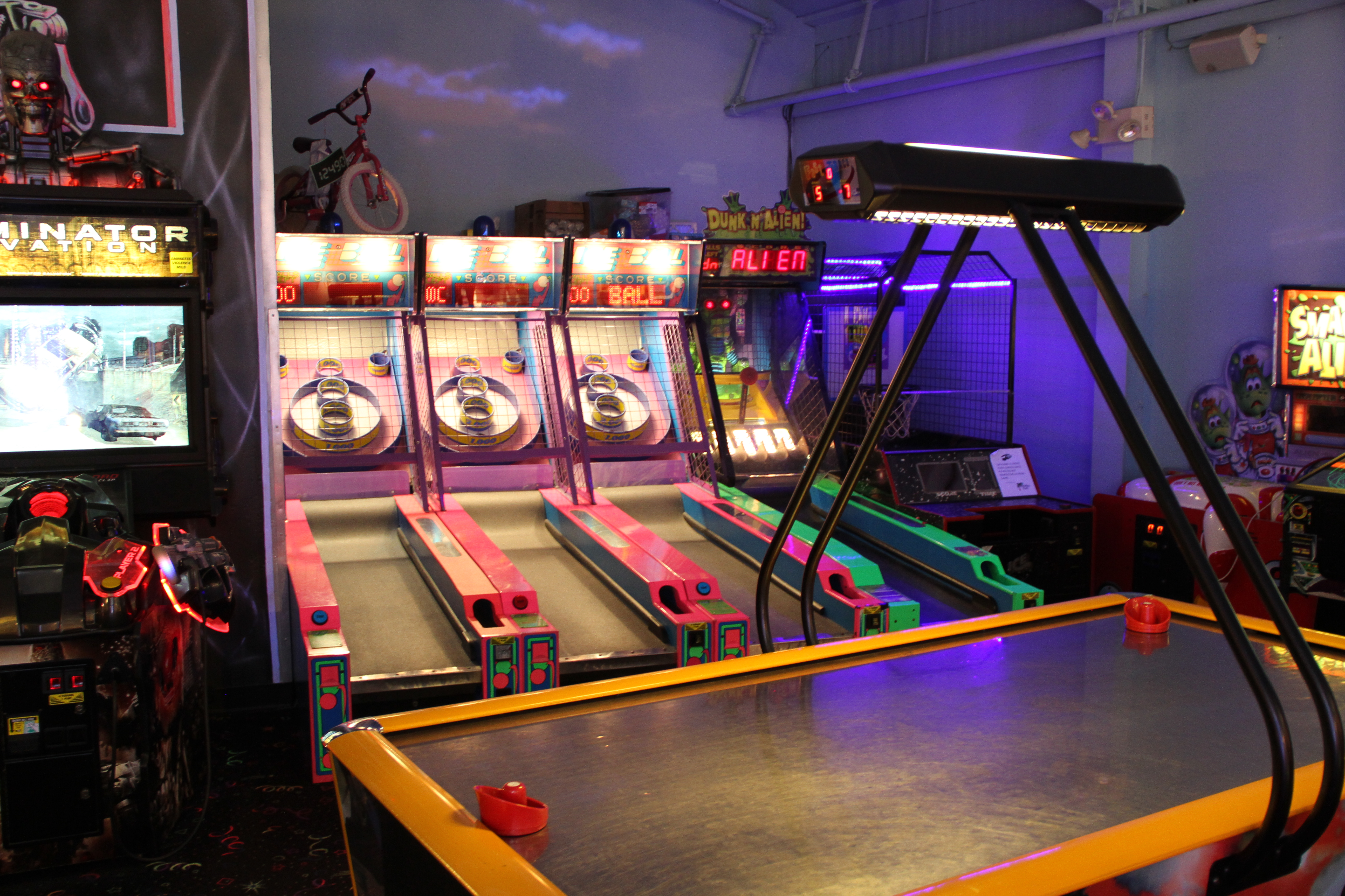 Arcade Game Room Skeeball