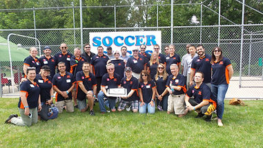 Adult Soccer Team Party