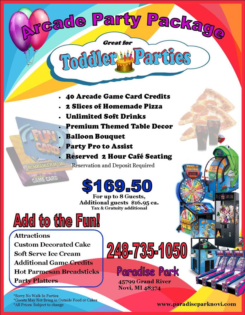Paradise Park Arcade Package