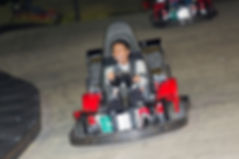 Go Kart Racing at night