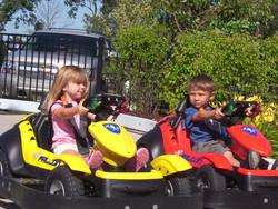 Kiddie Track, 2 kids