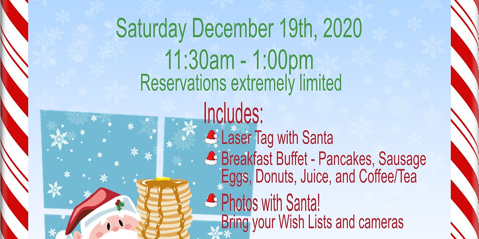 Brunch with Santa December 19th, 2020